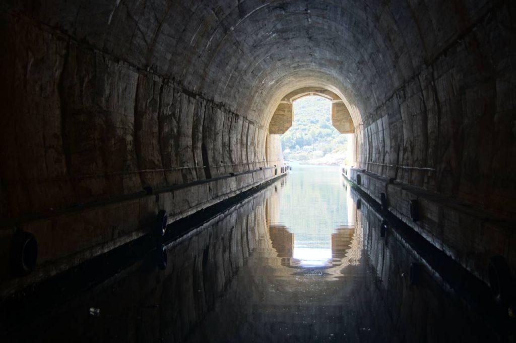 Vis island millitary tunnels
